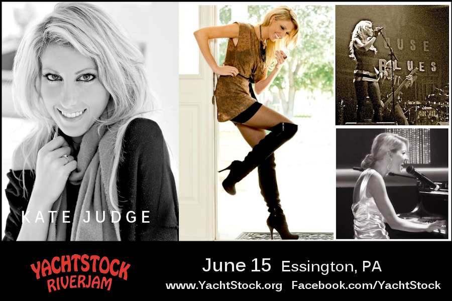 Kate Judge to perform at Yachtstock June 15