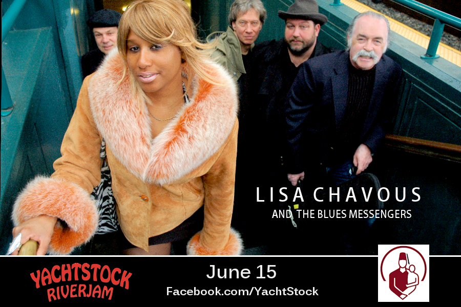 Lisa Chavous & the Blues Messengers to play Yachtstock June 15