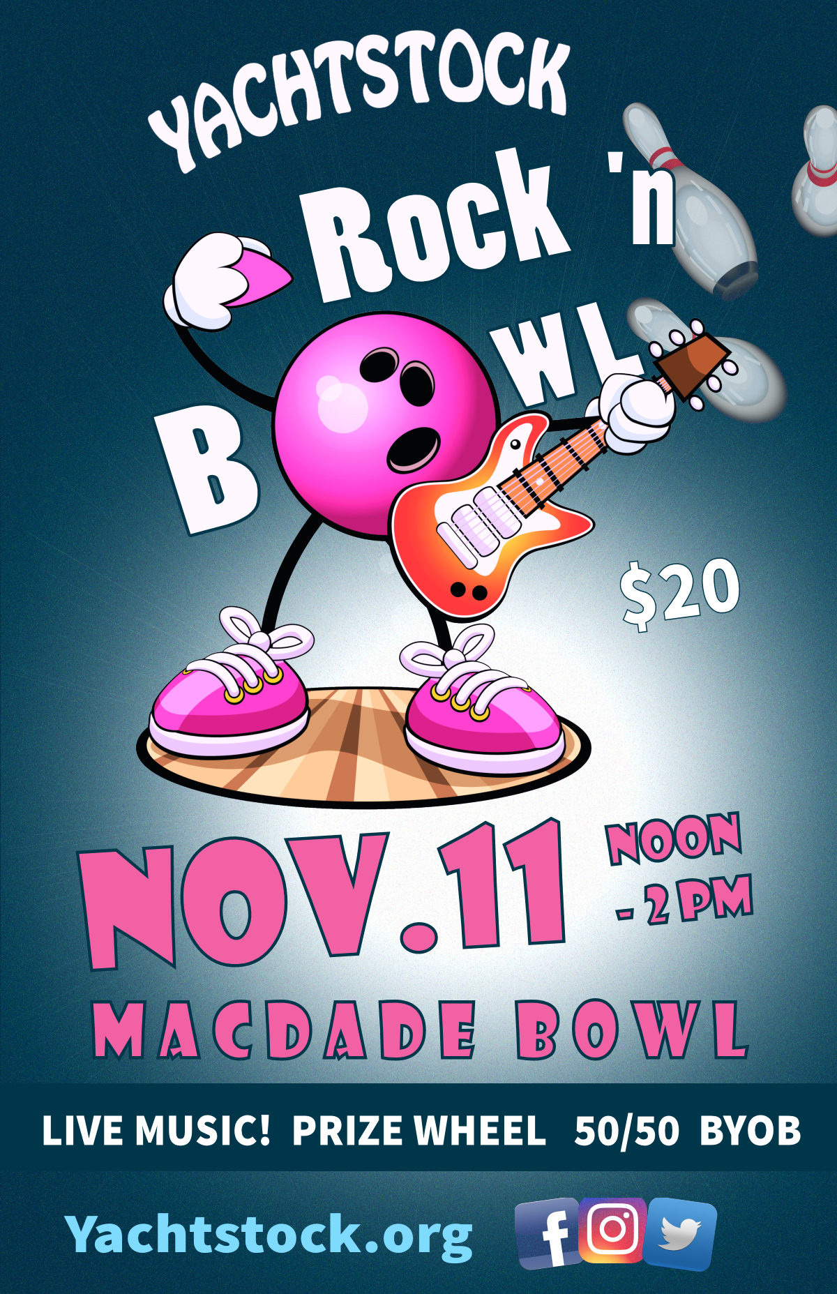 Rock 'N Bowl Nov. 11, 2018