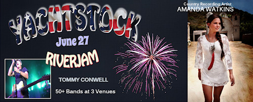 Yachstock 2015 Lineup with Amanda Watkins & Tommy Conwell
